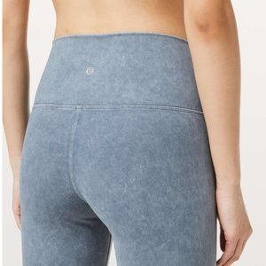 Lululemon Wunder Under Washed Moon Blue NWT 28""